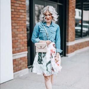 Ted Baker London Skirts - Ted Baker London Floral Mini Skirt- Size 1 (US 4)